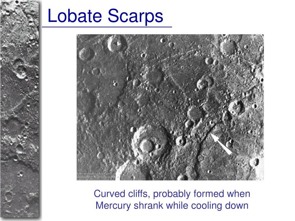 Lobate Scarps