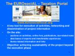 the eurosocial taxation portal