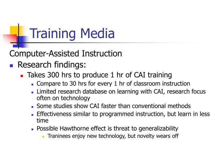 Training Media