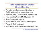 new pontchartrain branch rental facility