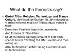 what do the theorists say48