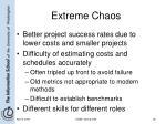 extreme chaos