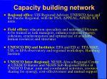 capacity building network