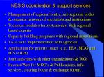 nesis coordination support services