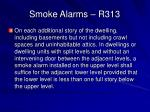smoke alarms r31334