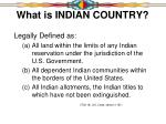 what is indian country4