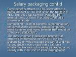 salary packaging cont d27