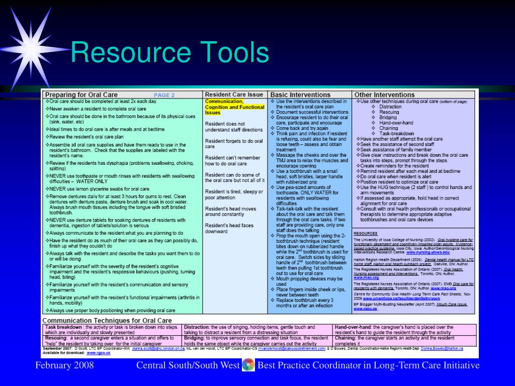 Resource Tools