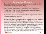 evacuation planning56