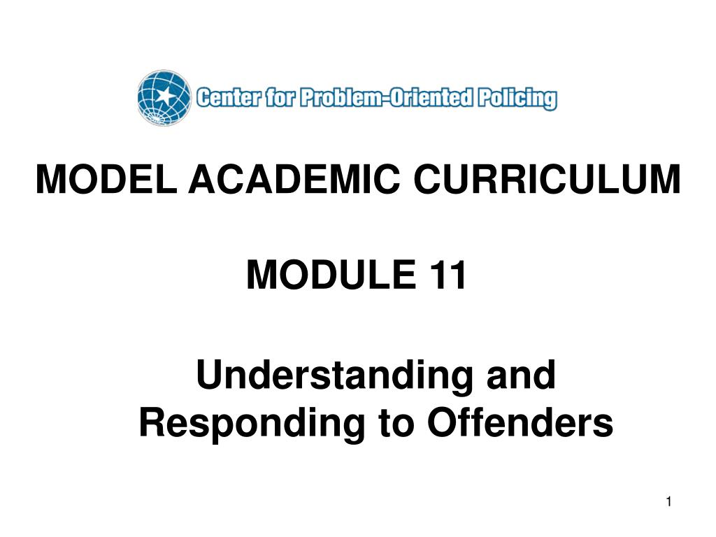ppt - model academic curriculum module 11 powerpoint presentation