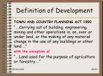 definition of development