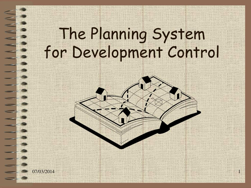 the planning system for development control l.
