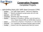 conservation program completed projects18
