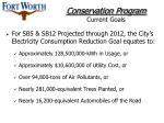 conservation program current goals