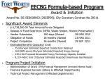eecbg formula based program award initiation