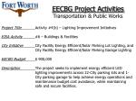 eecbg project activities transportation public works47