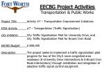 eecbg project activities transportation public works49