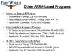 other arra based programs