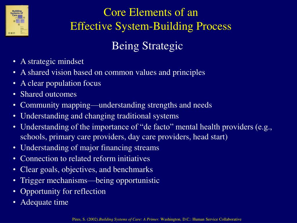 Core Elements of an