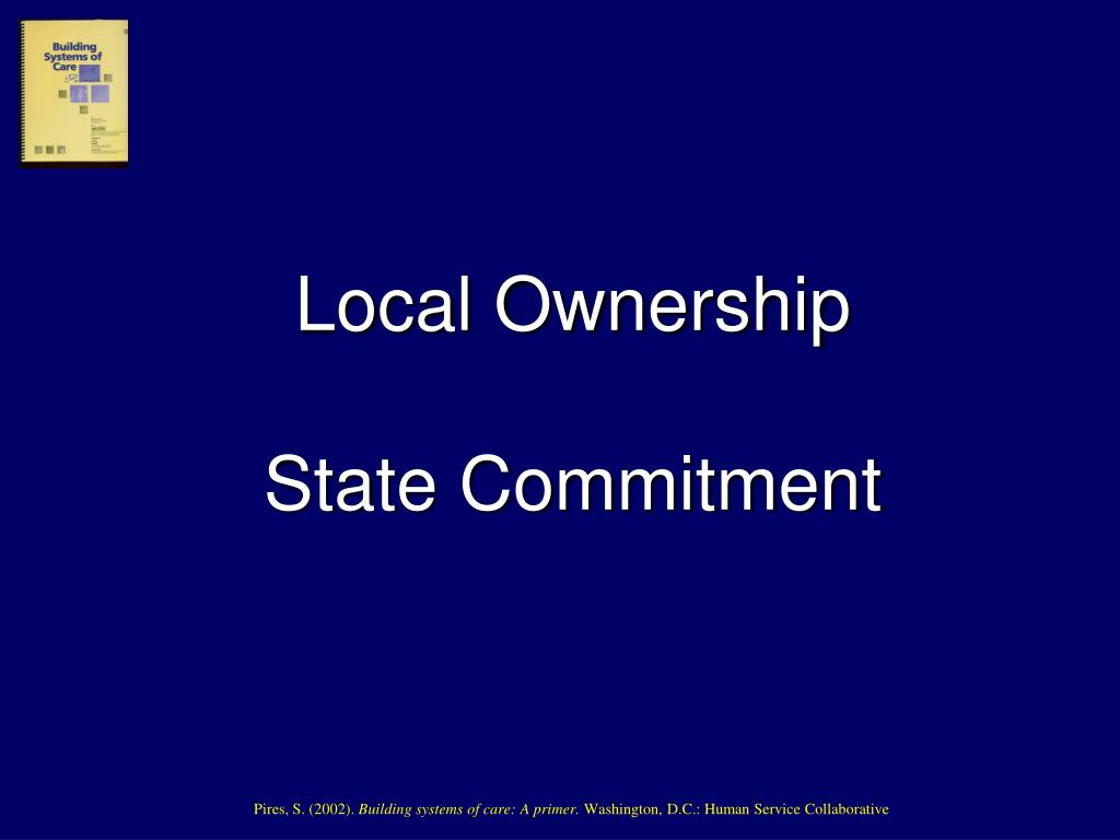 Local Ownership