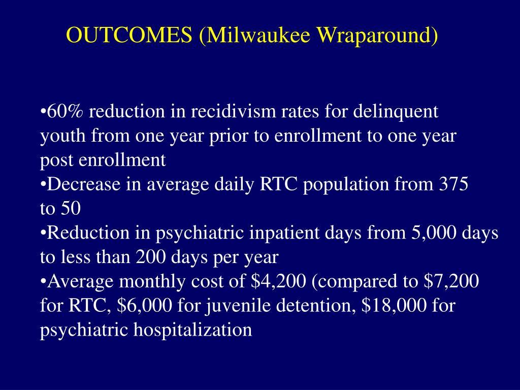 OUTCOMES (Milwaukee Wraparound)