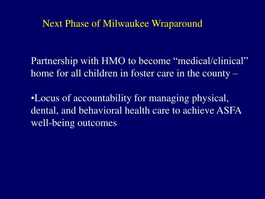 Next Phase of Milwaukee Wraparound