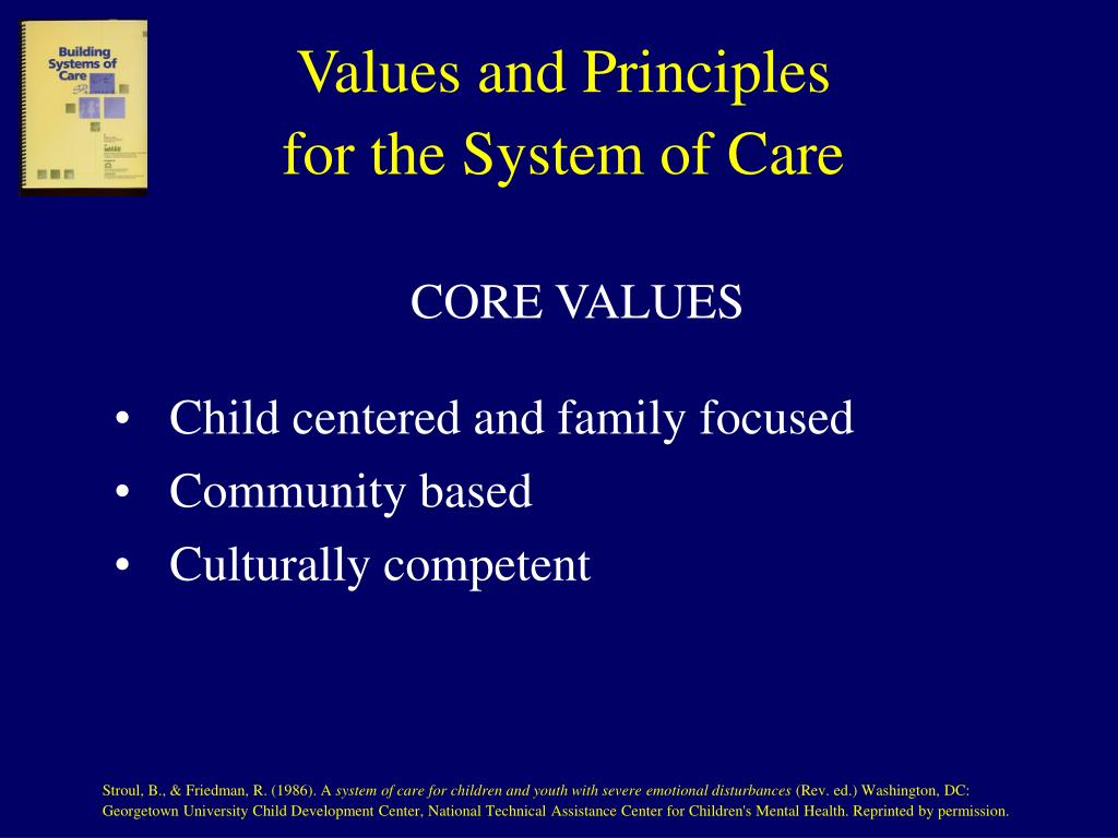 Values and Principles