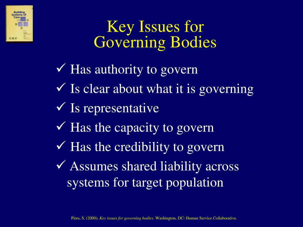 Key Issues for