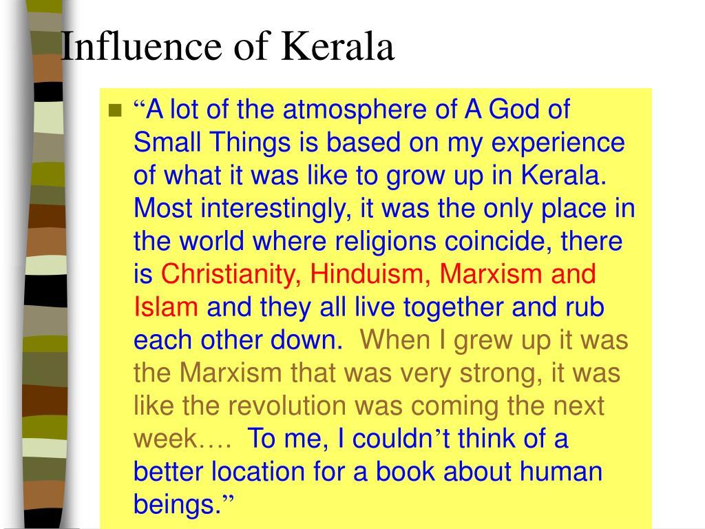 Influence of Kerala