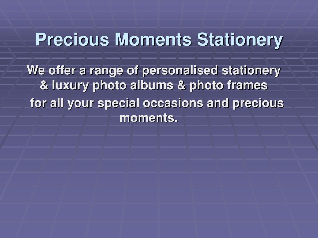precious moments stationery l.