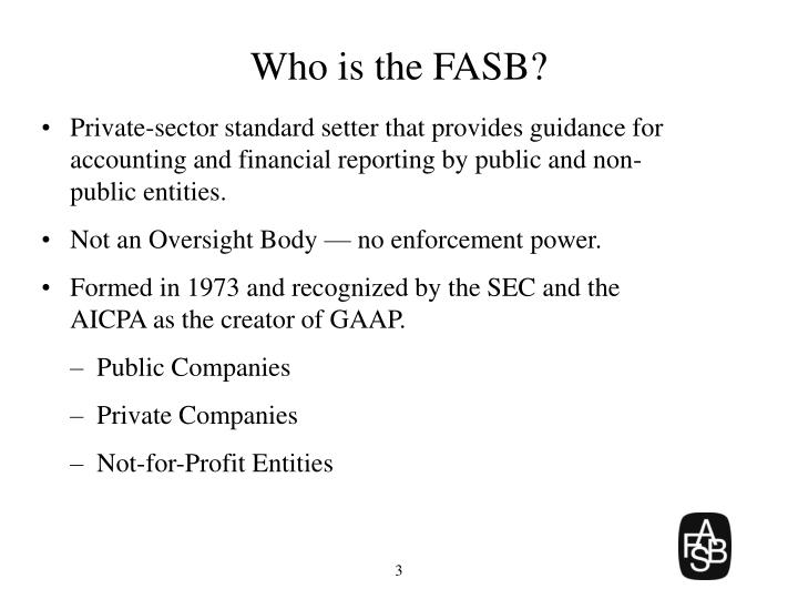 Who is the fasb