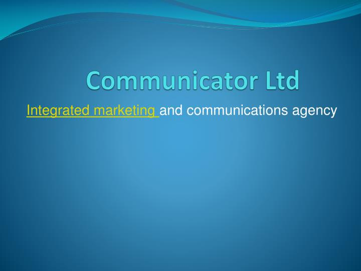 Communicator ltd