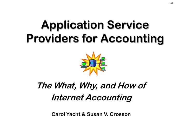 application service providers for accounting n.