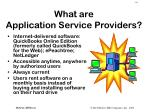 what are application service providers