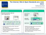 the internet web open standards are a new wave