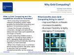 why grid computing