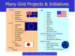 many grid projects initiatives