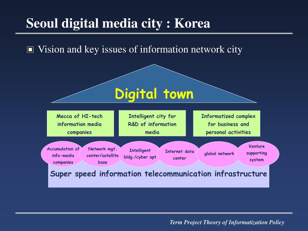Vision and key issues of information network city
