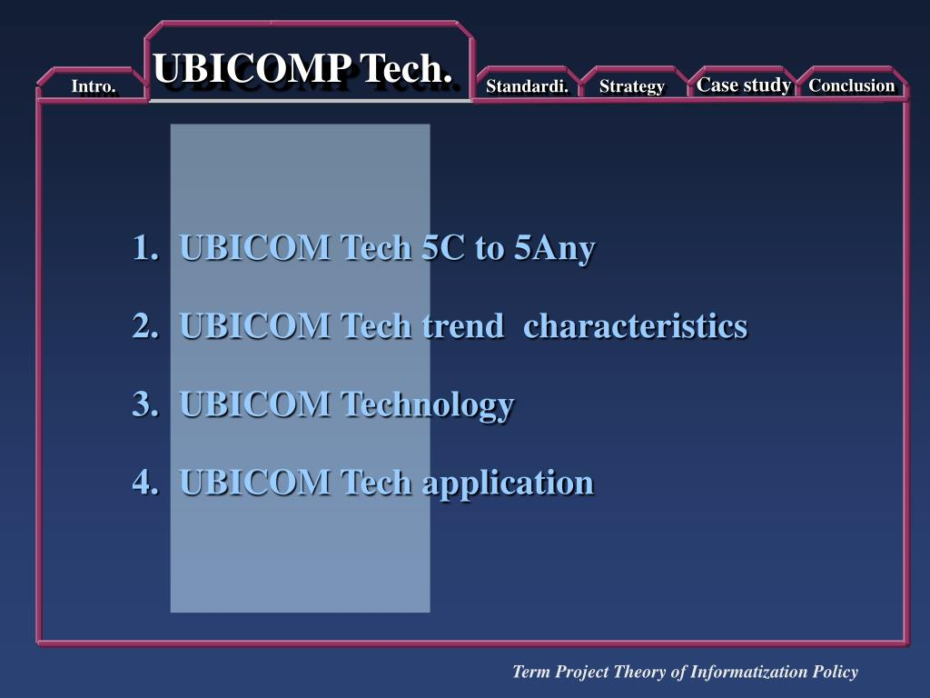 UBICOMP Tech.