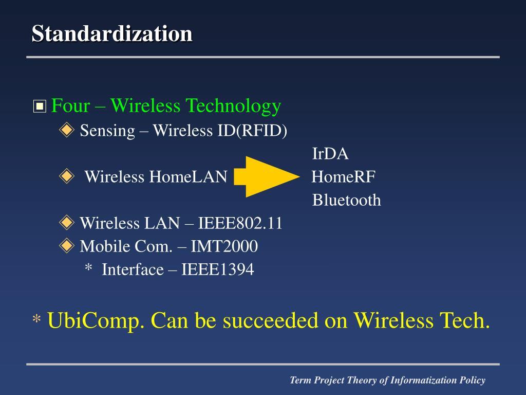 Four – Wireless Technology