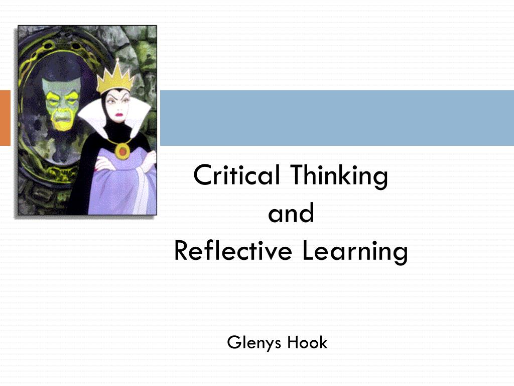 reflective paper on critical thinking