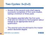 two cycles 3 2 2