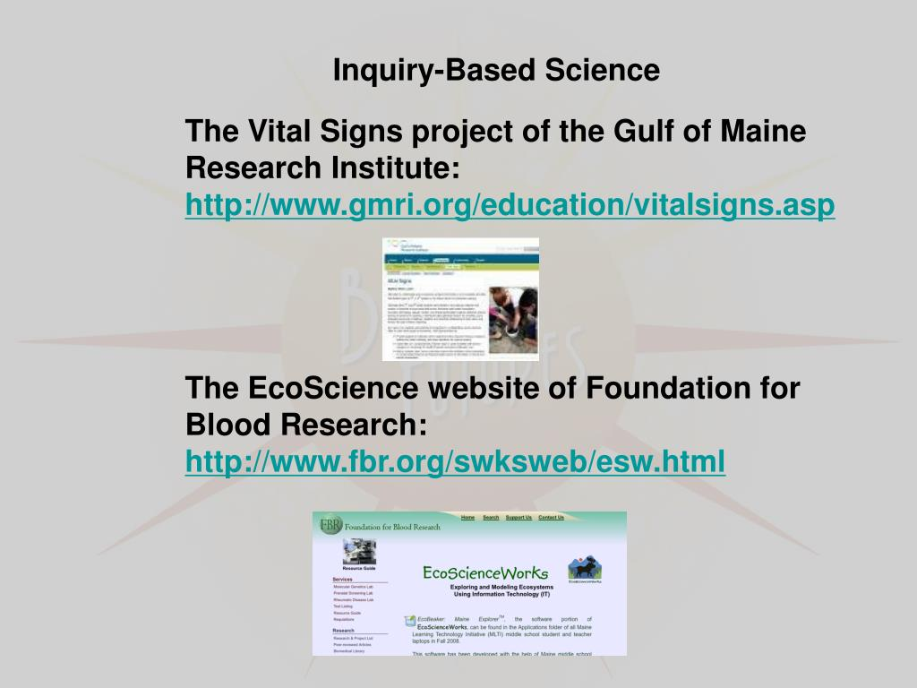 Inquiry-Based Science