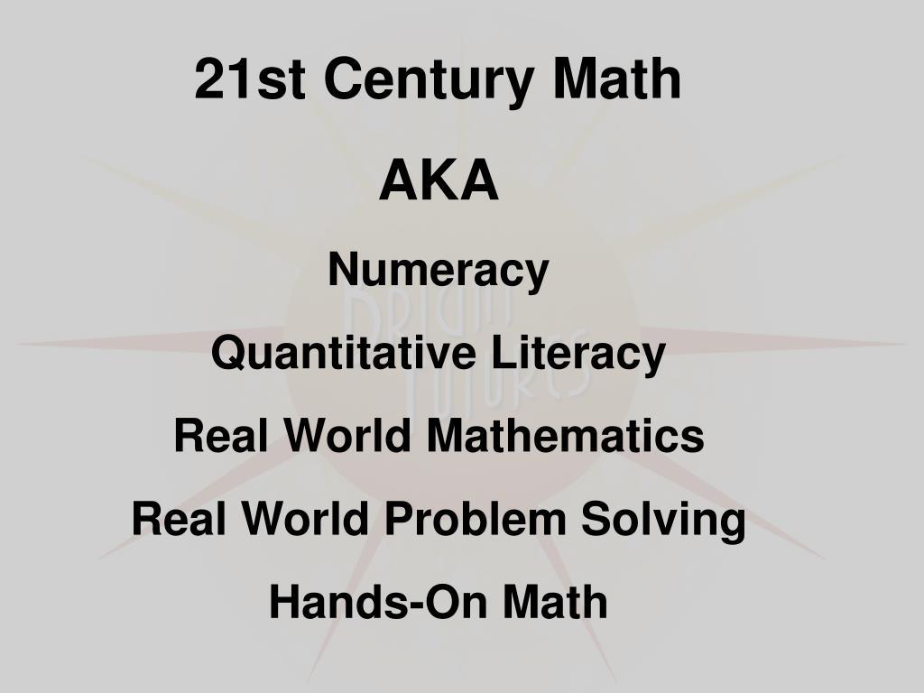 21st Century Math