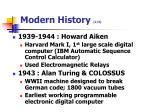 modern history 2 3