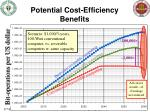 potential cost efficiency benefits
