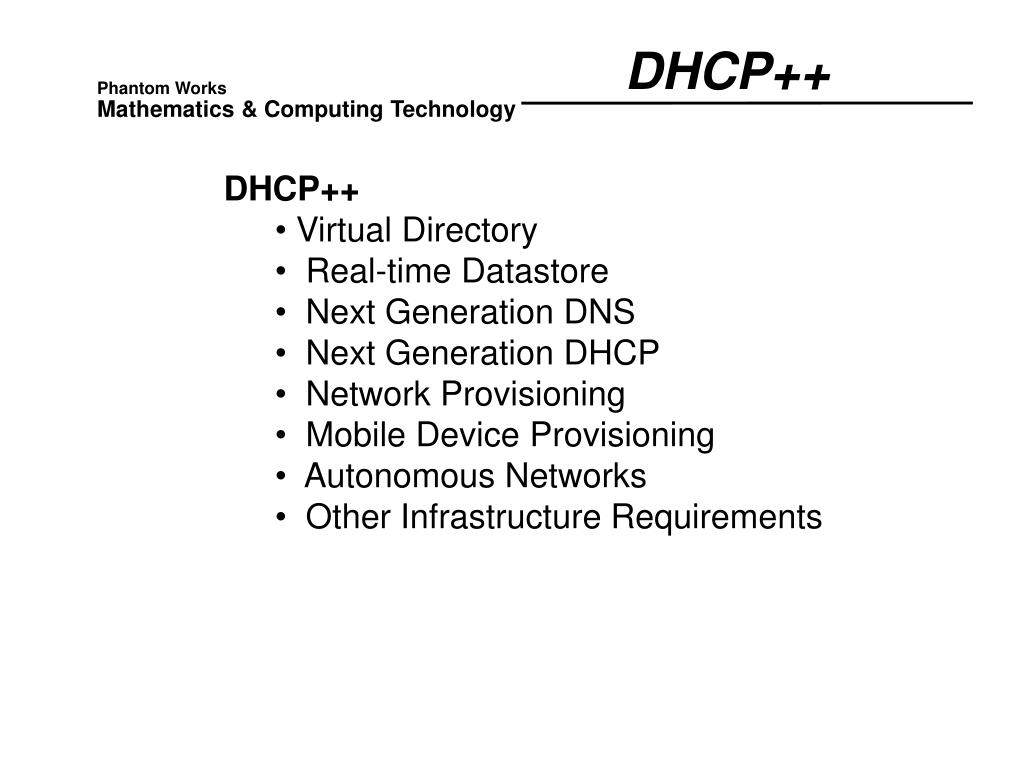DHCP++