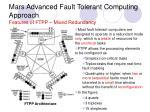 mars advanced fault tolerant computing approach features of ftpp mixed redundancy