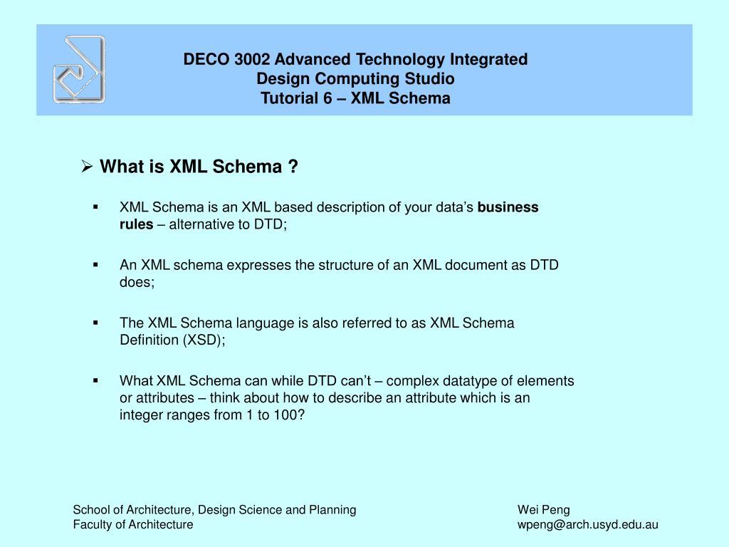 what is xml schema l.