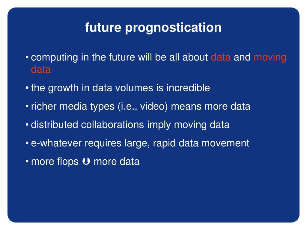 future prognostication